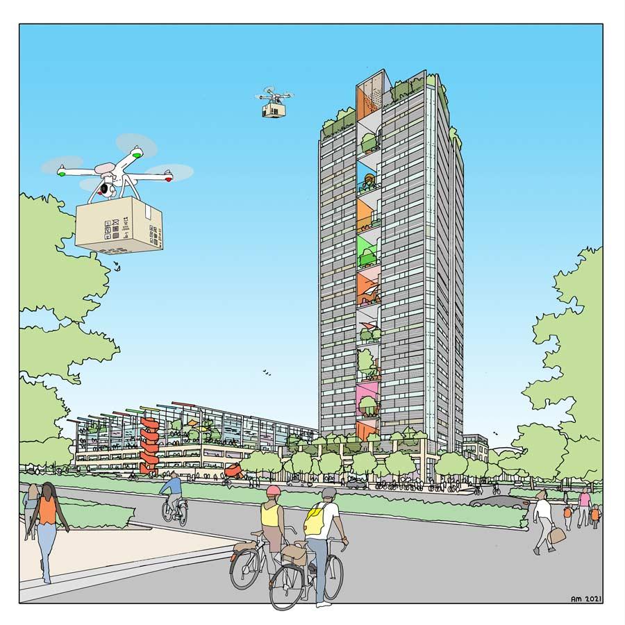 A vision for Saxon Court @ MK Gateway